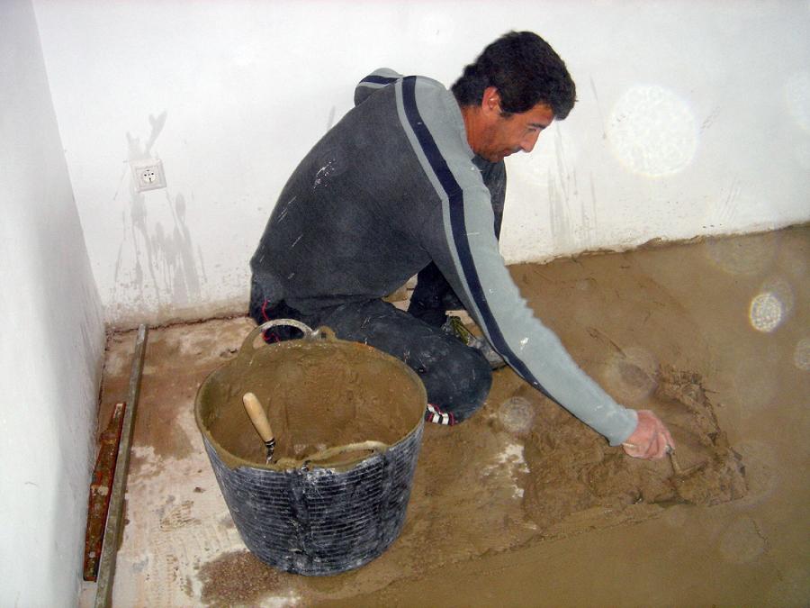 Foto preparando afirmado para pavimentar de reparaciones - Fontaneros en elche ...