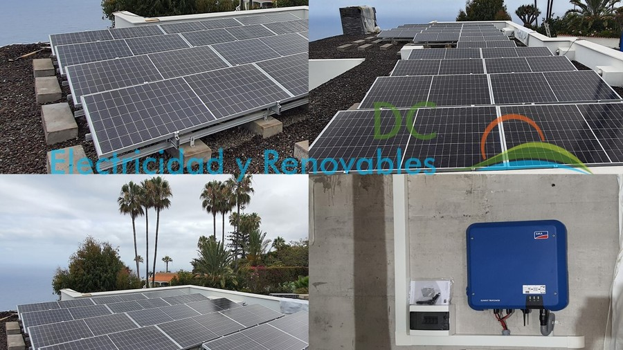 Instalación solar fotovoltaica 10Kw