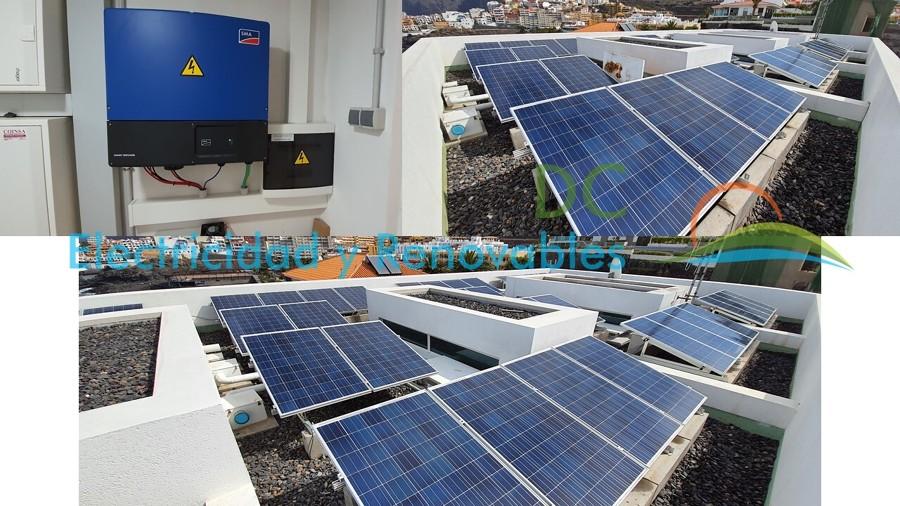 Instalación solar fotovoltaica 15Kw