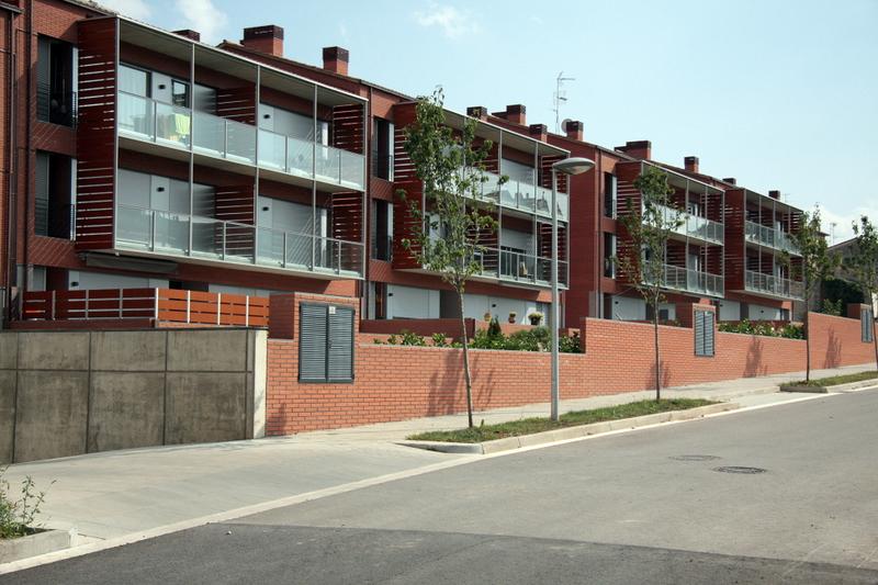 Promoción de viviendas en Olot