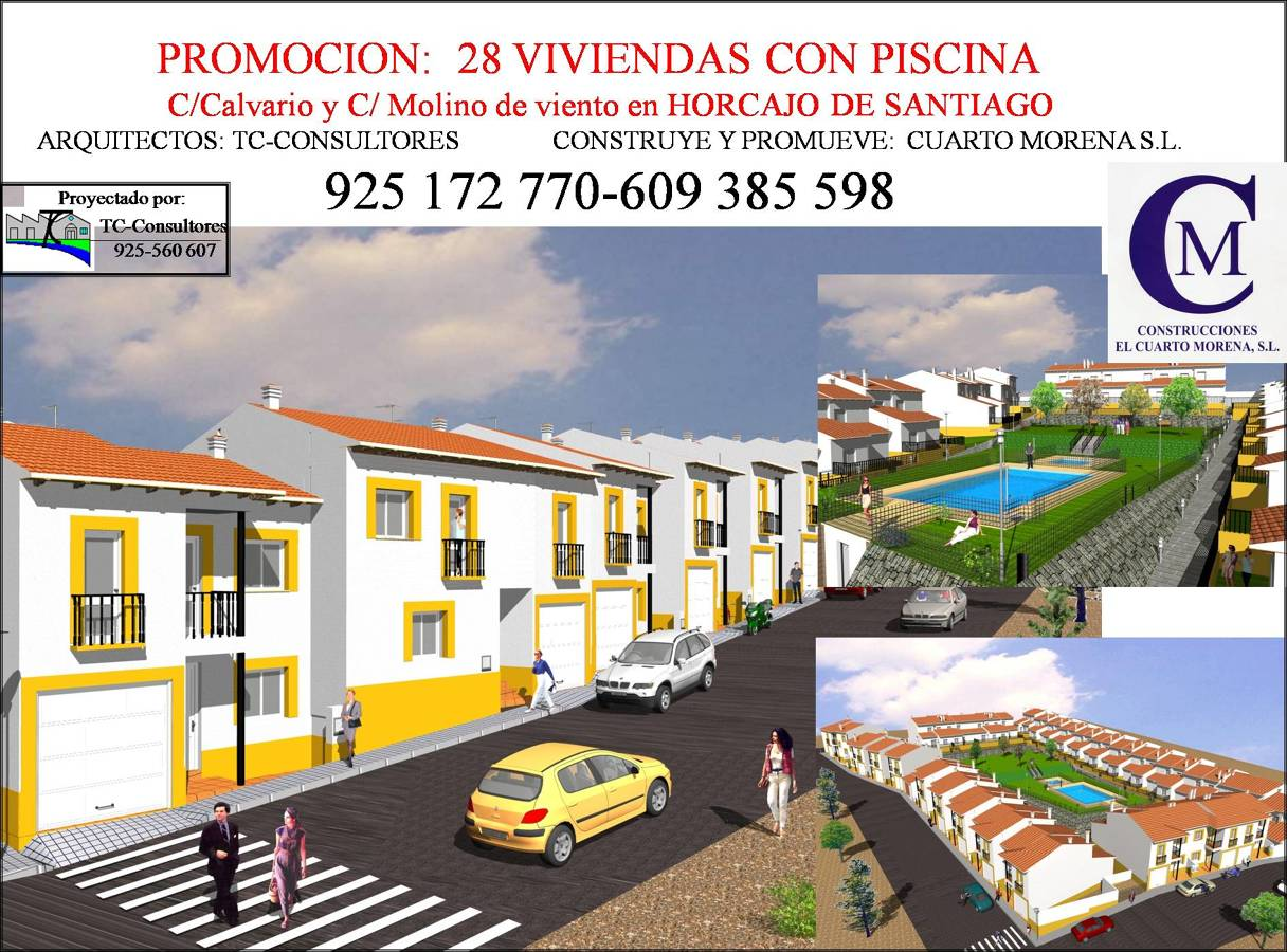 Foto promocion de viviendas horcajo de santiago de tc - Busco arquitecto tecnico ...