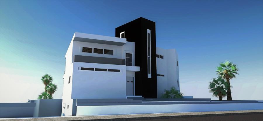 Foto inforgrafia casa modular minimalista de stunning for Casa minimalista tarragona