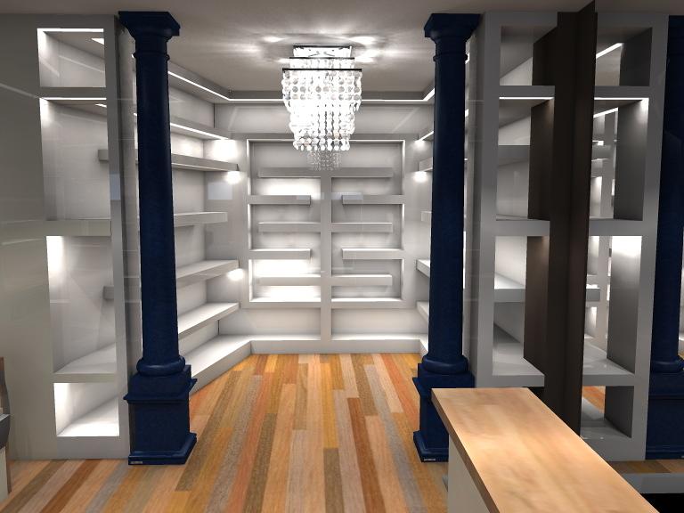 Foto proyecto 3d local comercial de decorando tu espacio 291949 habitissimo - Proyecto local comercial ...