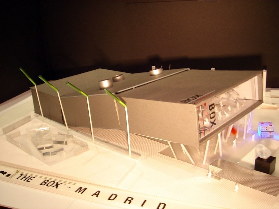 PROYECTO CENTRO DE OCIO CASA CAMPO, MADRID