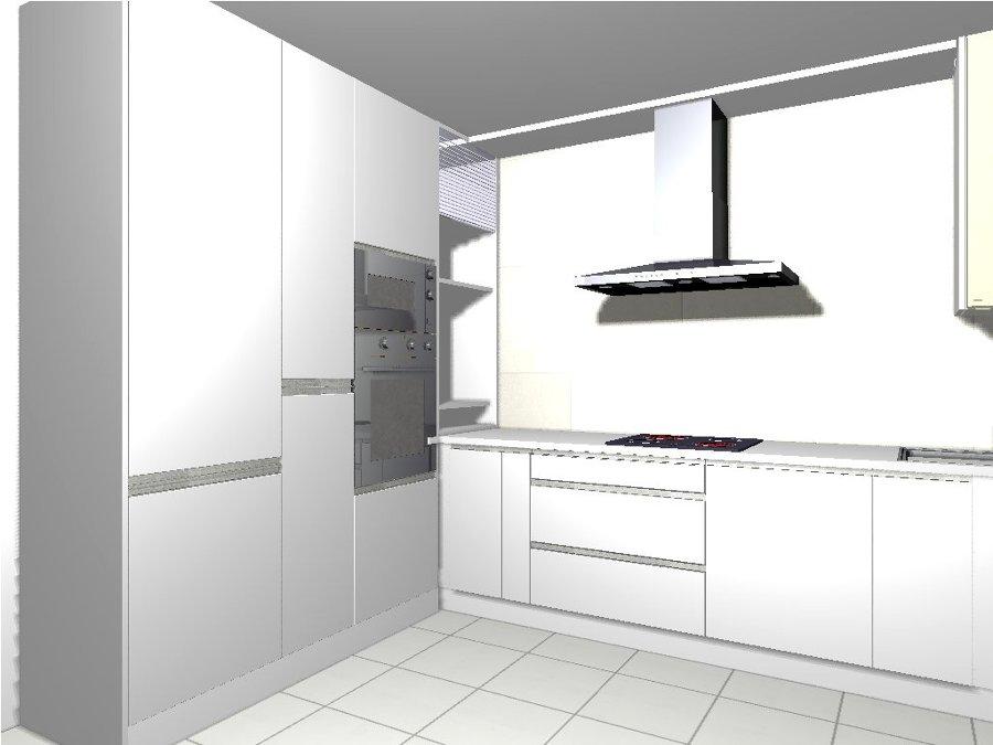 Foto proyecto cocina en pontevedra 1 de disenoslongo - Muebles en pontevedra ciudad ...