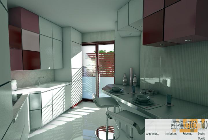 Foto proyecto de reforma integral de cocina ventisquero de la condesa de spacio10 arquitectura - Reforma integral cocina ...