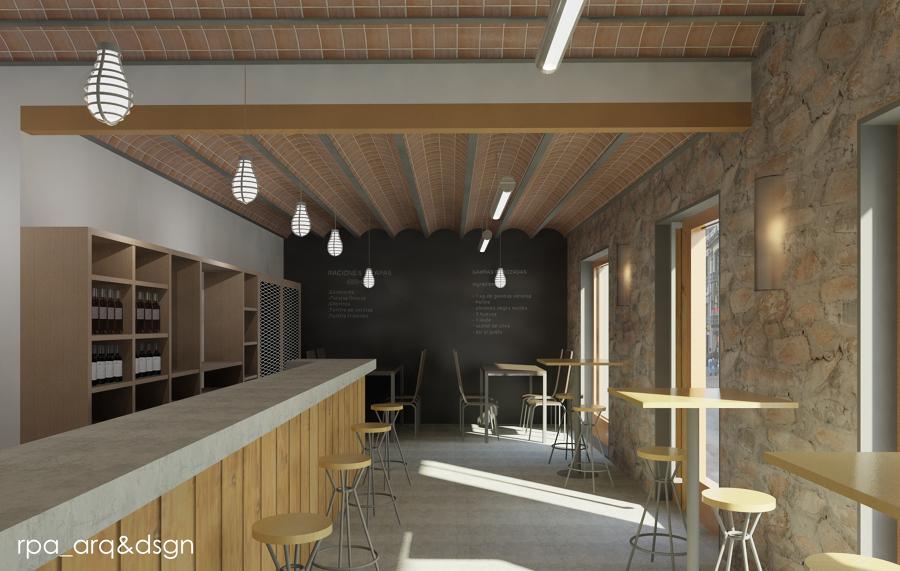 Proyecto de remodelación bar-cafeteria