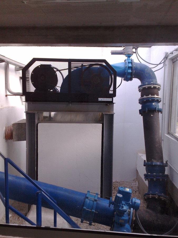 Proyecto de Turbina de Agua.