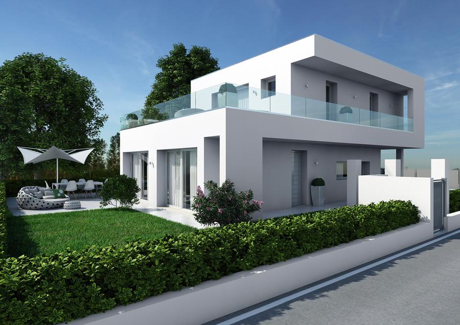 proyecto exteriores minimal