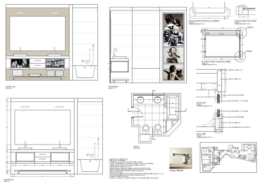Foto proyecto interiorismo vivienda particular ba o - Proyectos de banos ...