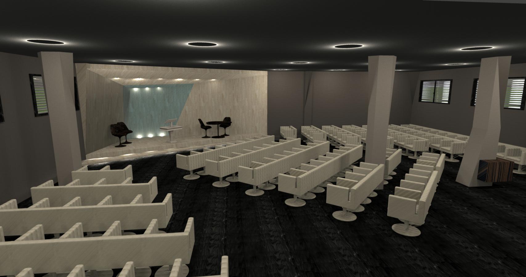 Proyecto para un pequeño auditorio en Vigo (Pontevedra).