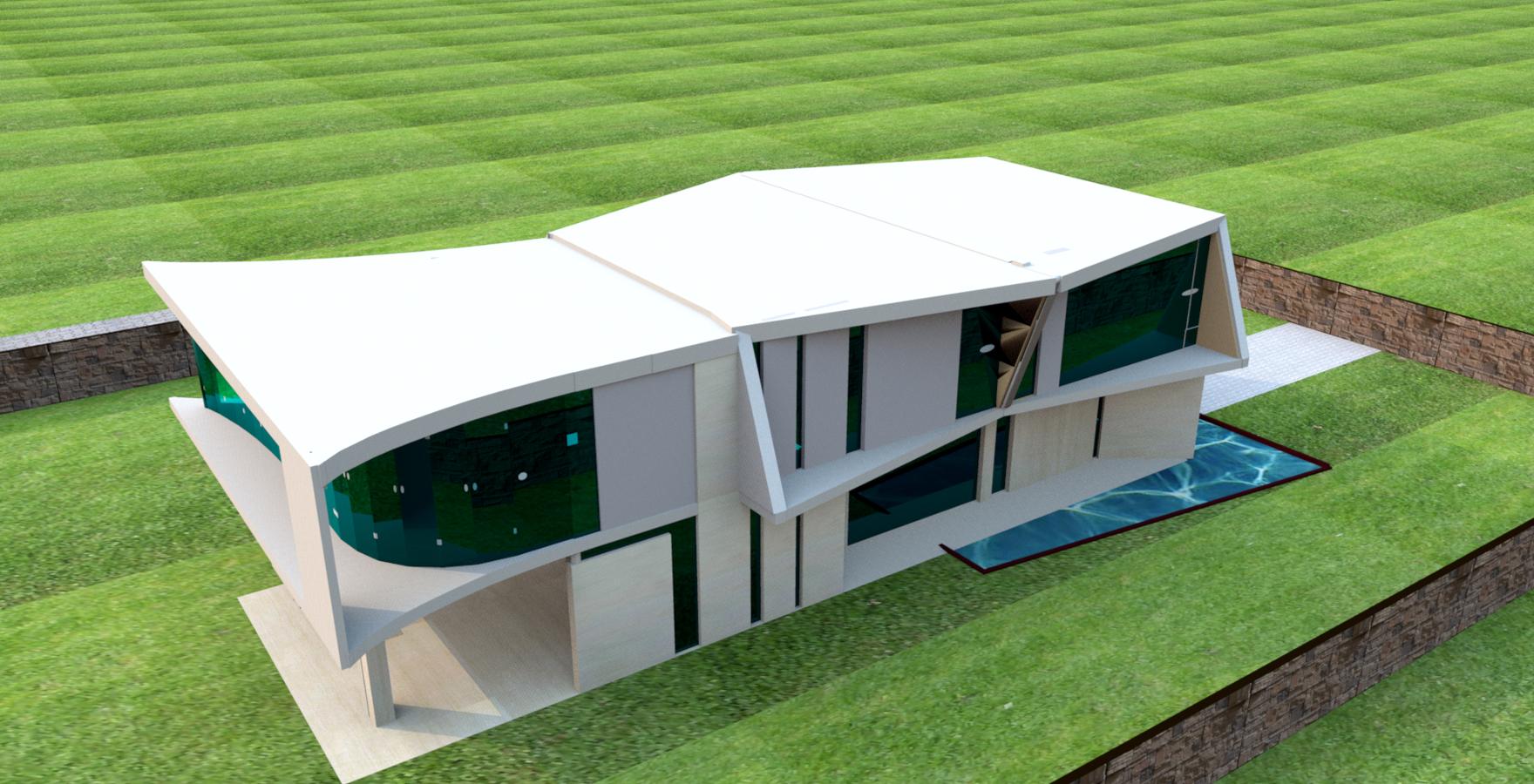 - Proyecto para vivienda unifamiliar -4