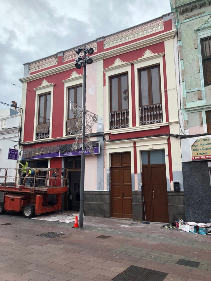 proyecto pintura exterior fachada Telde 7.JPG