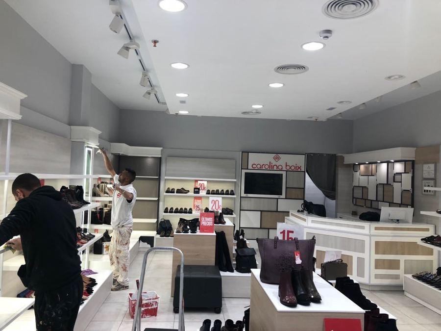 proyecto pintura interior local comercial Carolina Boix 4 .JPG