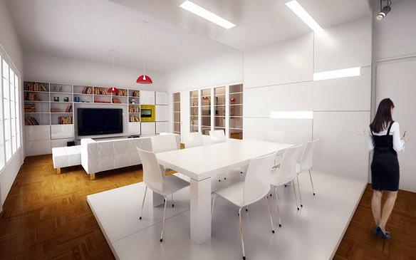 Proyecto, reforma y propuesta de decoración en apartamento para una pareja joven.