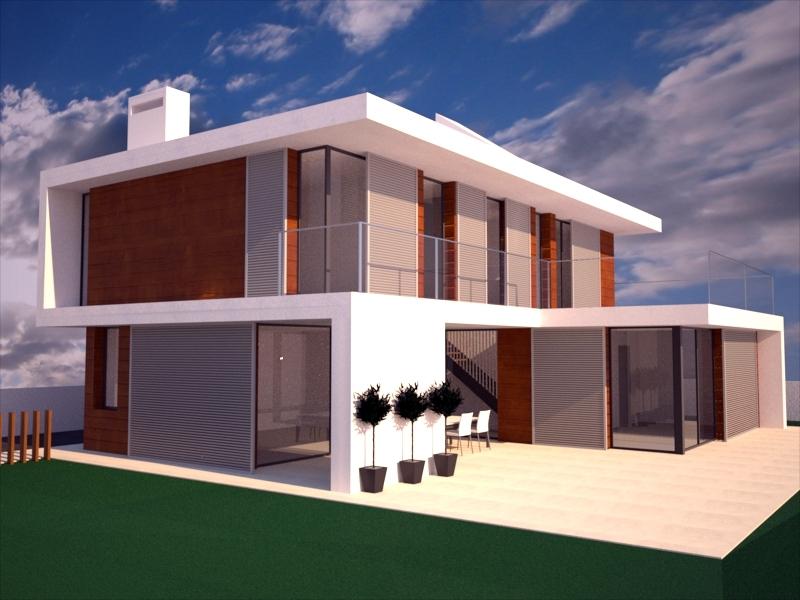 Posts tagged casas con piscina fachadas de casas y fotos for Proyectos casas modernas