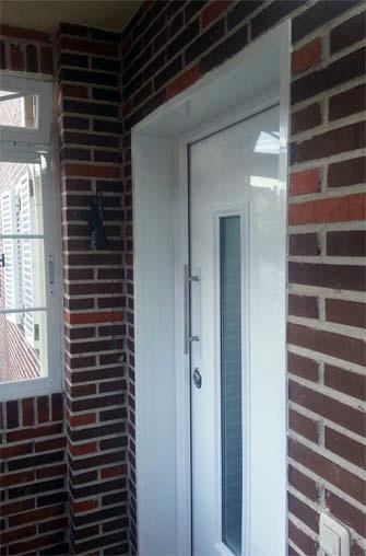 foto puerta acorazada g3 con cristal blindado de