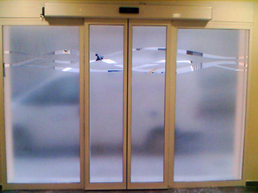 Puerta Automatica vidrio