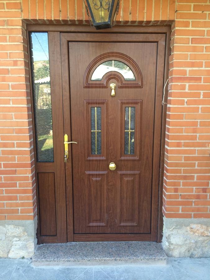 Puerta barrotillo oro