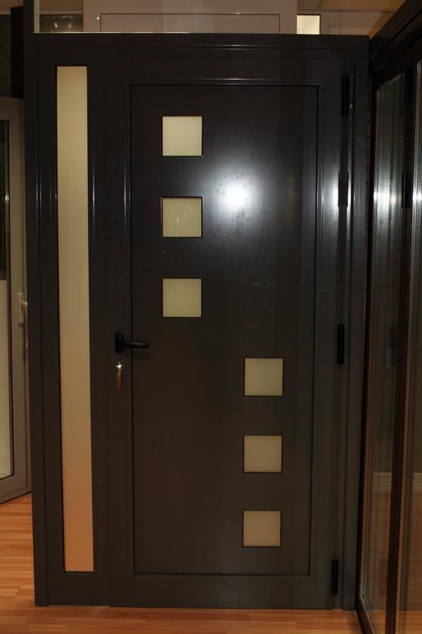 Puerta con panel