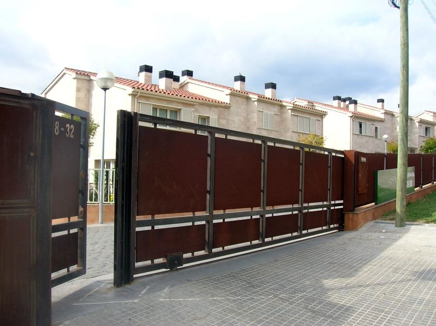 foto puerta corredera de acero corten de taller de ForPuerta Corredera De Taller