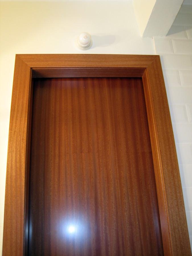Foto puerta corredera para ba o de studio banys i cuines Puertas corredizas banos