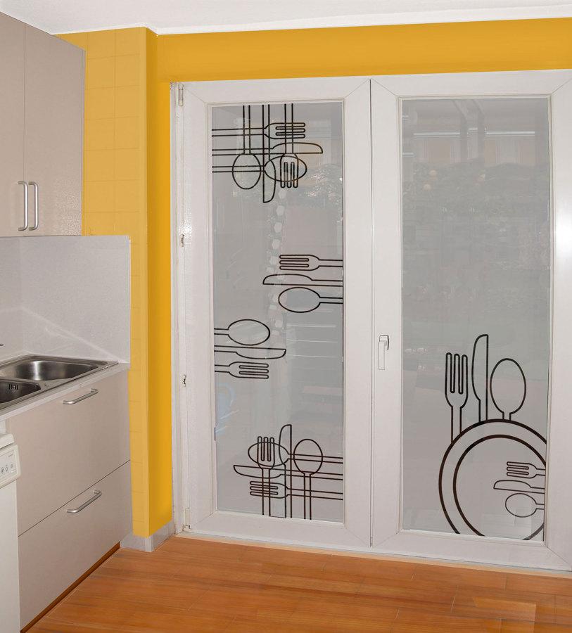 Foto puerta corredera para cocina de lovevinilos 513209 - Puerta corredera cocina ...