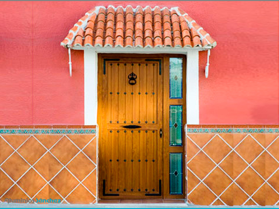 Puerta de acceso a la vivienda