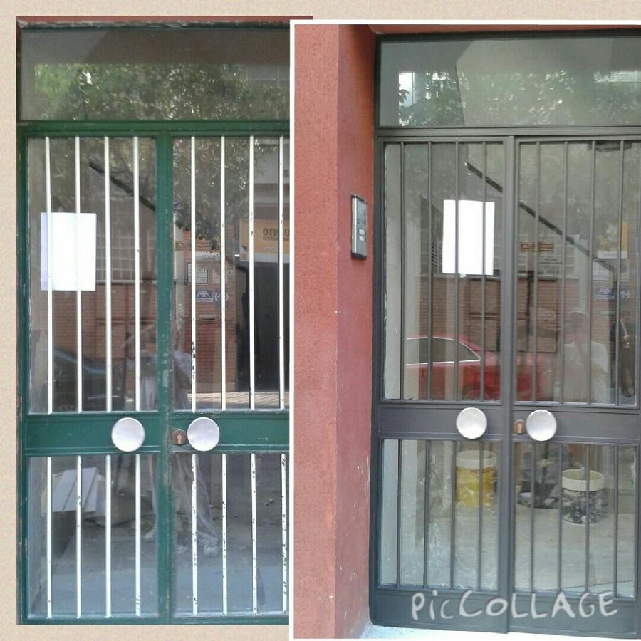 puerta de entrada a comunidad