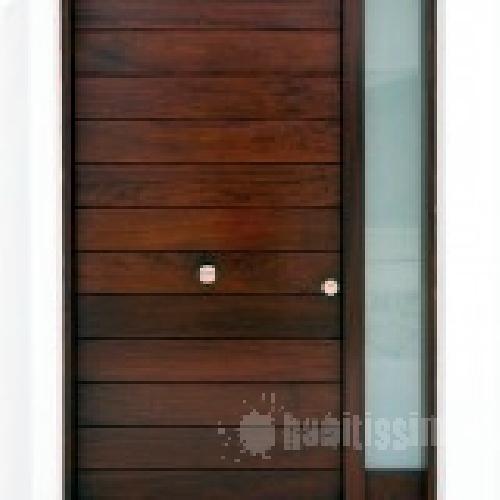 puerta de exterior de iroco