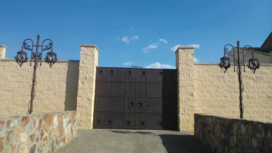 puerta de forja