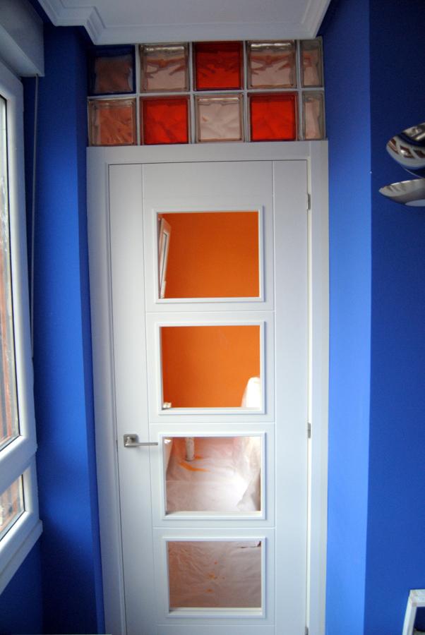 Foto puerta de paso con paves cristal de tecnam - Cristal de paves ...