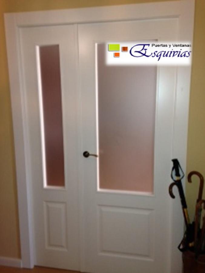Foto puerta de paso interior blanca de puertas y ventanas for Puertas de paso blancas