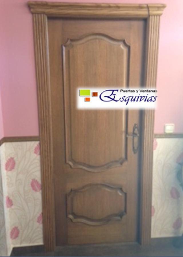 Foto puerta de paso interior madera de puertas y ventanas - Puertas de interior de madera ...