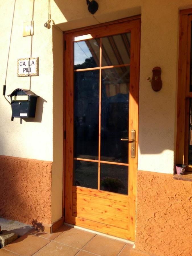 Puerta en imitación madera
