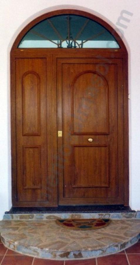 Puerta Entrada en Roble Dorado