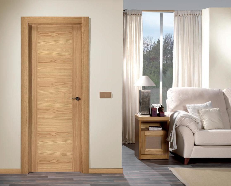 Foto puerta interior de carpinter a m p rez 201567 - Colores para puertas de madera interiores ...