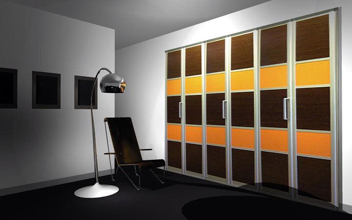 Foto puerta panel japones de muebles carriles 317076 for Muebles de oficina ourense