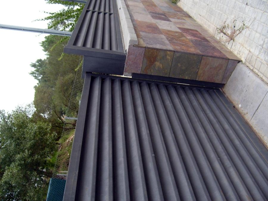 Foto puerta y vallas metalicas de metalista emaexpo for Vallas metalicas para piscinas