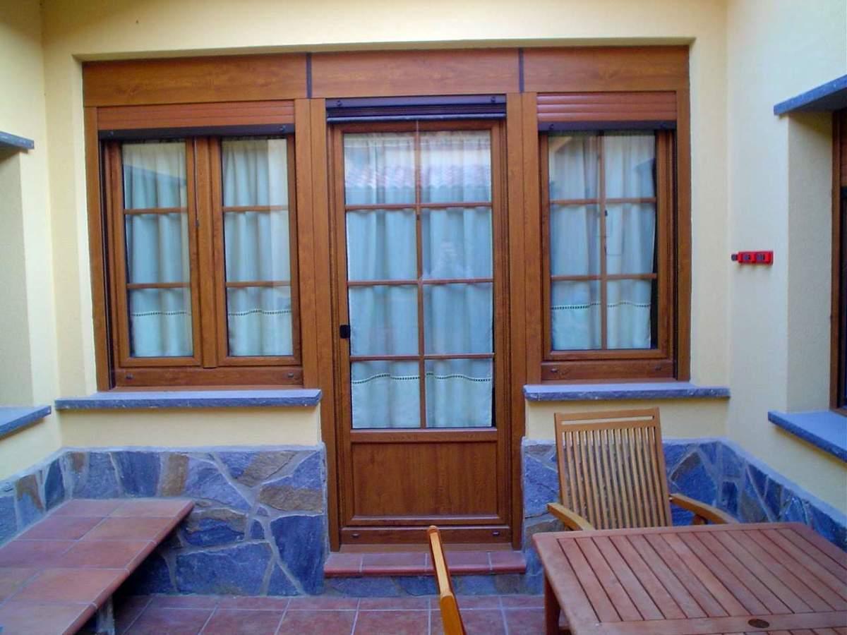 foto puerta y ventanas de pvc aleman marca weru de