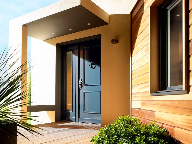 Foto puertas acorazadas para viviendas unifamiliares de for Puertas para vivienda