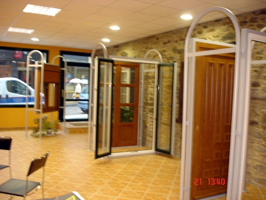 Puertas balconeras, ventana con monoblok