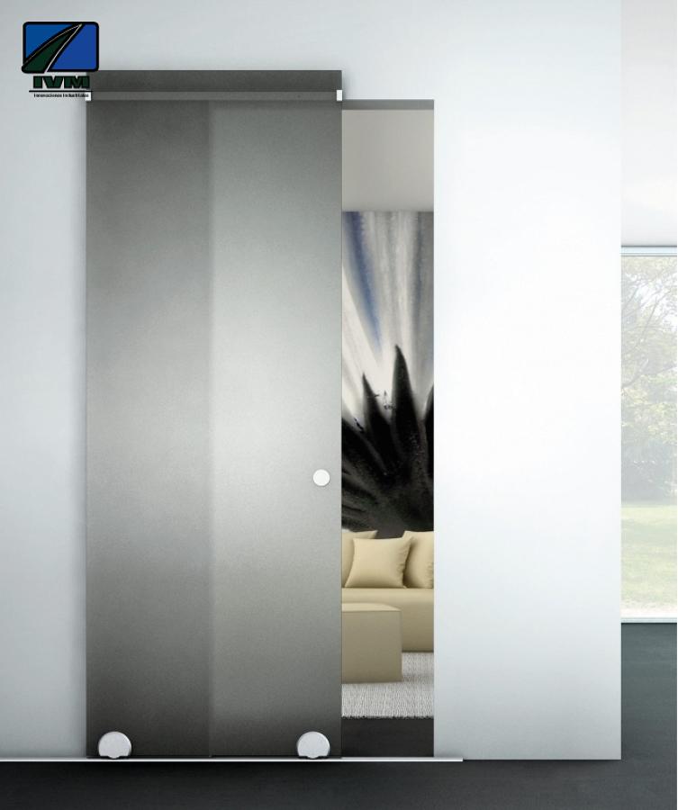 Foto puertas correderas ivm industrial de ivm industrial - Puerta corredera industrial ...