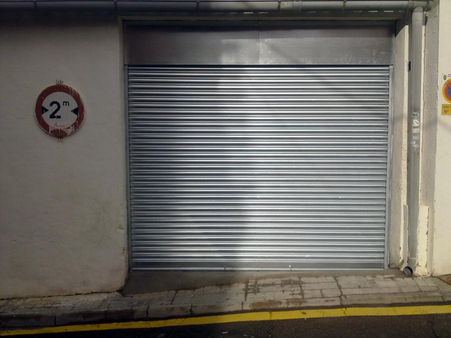 Foto puertas de garaje de metalicas anugar s c 154221 habitissimo - Puertas de garaje murcia ...
