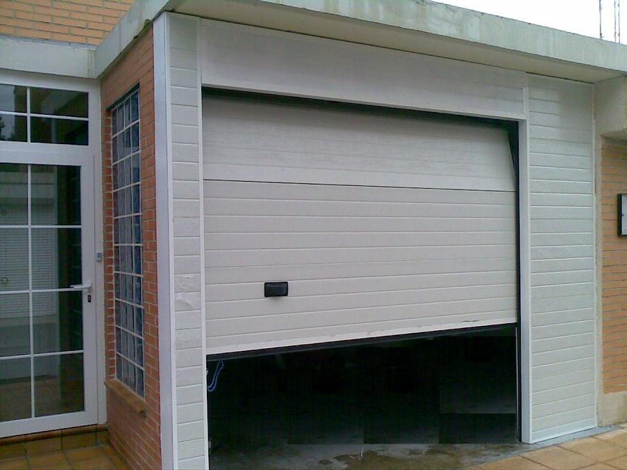 Foto puertas de garaje de metalicas anugar s c 154223 - Proyecto puerta de garaje ...