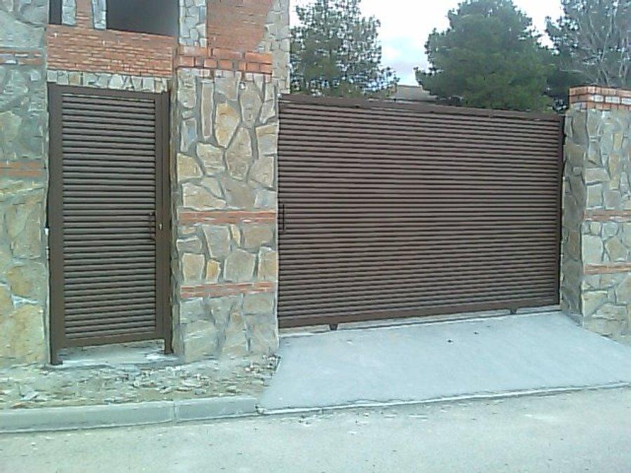 puertas de lama eliptica