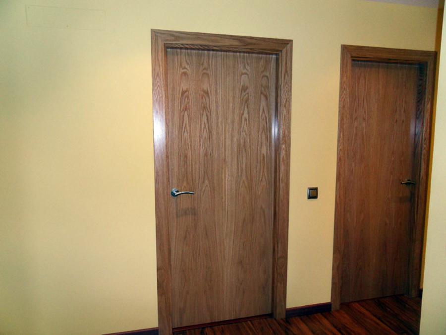 Puertas de roble.