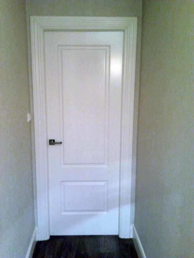 Foto puertas en color blanco lacadas de multiservicios - Lacar puertas en blanco precio ...