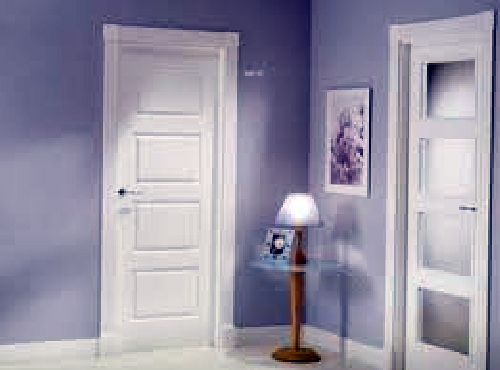Foto puertas interiores lacadas en blanco de alex for Puertas dm lacadas en blanco