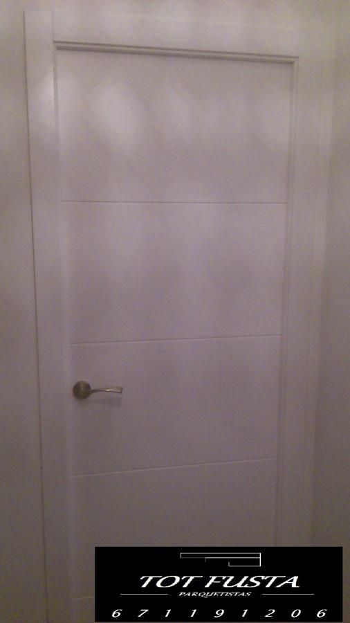 Foto puertas y parquet de totfusta 384554 habitissimo for Puertas y parquet